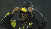 Trenér Dortmundu Jürgen Klopp.