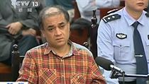 Soudn� proces s ujgursk�m akademikem a disidentem Ilhamem Tohtim.