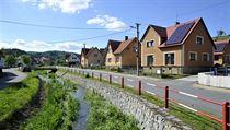 Obec Kate�inice na Vset�nsku se stala 20. z��� Vesnic� roku 2014