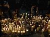 Tryzna za 43 zmizelých studentů.