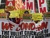 Prodemokratické protesty v Hongkongu pokračují i v pátek a nadále mají klidný průběh.