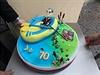 Origin�ln� d�rek. Narozeninov� dort pro prezidenta Milo�e Zemana k jeho 70. narozenin�m.