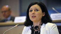 V�ra Jourov�, �esk� kandid�tka do funkce evropsk� komisa�ky pro spravedlnost,...