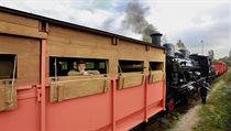 Legion��sk� vlak po sto letech op�t vyjel na koleje