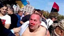 Z�b�r z lyn�ov�n� poslance ukrajinsk� Strany region� Nestora �ufry�e.