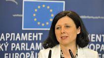 �esk� kandid�tka do Evropsk� komise V�ra Jourov�