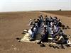 Turečtí Kurdové se modlí za Kobani.
