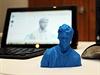 Tomáš Hudeček z TOP 09, vytisknutý ve 3D tiskárně.
