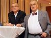 Miroslav Kalousek a Karel Schwarzenberg ve volebním štábu TOP 09.