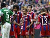 Fotbalisté Bayernu Mnichov se radují z vít�zství. | na serveru Lidovky.cz | aktu�ln� zpr�vy