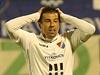 Milan Baroš hraje po návratu do Baníku Ostrava své první minuty, když nastoupil v 72.minutě.