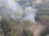 Výbuch a následný požár zničily sklad munice.