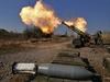 Separatisté ostřelují pozice ukrajinské armády u doněckého Mezinárodního letiště Sergeje Prokofjeva.