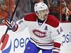 Hokejov� �to�n�k Montrealu Tom� Plekanec vst�elil g�l za z�da brank��e Philadelphie