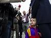 Malý Josef, syn vicepremiéra a předsedy KDU-ČSL Pavla Bělobrádka, sleduje mediální mumraj kolem svého táty. Bělobrádek odvolil v pátek v Náchodě.