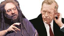 Jaron Lanier a Václav Havel, nositelé Mírové ceny n�meckých knihkupc� | na serveru Lidovky.cz | aktu�ln� zpr�vy