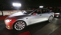 Nová podoba elektromobilu Tesla S. | na serveru Lidovky.cz | aktu�ln� zpr�vy