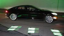 Nov� podoba elektromobilu Tesla S.