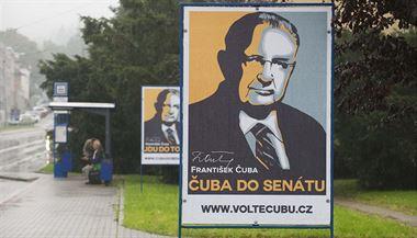 Billboardová kampa� Franti�ka �uby p�ed volbami do Senátu v roce 2014 | na serveru Lidovky.cz | aktu�ln� zpr�vy