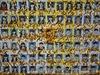 Fotografie studentů, kteří zahynuli při potopení jihokorejského trajektu Sewol...