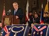 Miloš Zeman předává státní vyznamenání na svátek 28. října.
