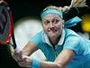 Bekhend! Petra Kvitov� na Turnaji mistry�.