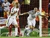 Karim Benzema oslavuje branku do sít� Liverpoolu | na serveru Lidovky.cz | aktu�ln� zpr�vy