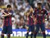 Zklamaní Messi a Neymar.