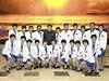 Kim Čong-un a zlaté severokorejské atletky (fotografii vydala KCNA 19. října, sportovkyně měly získat zlato na 17. ročníku Asijských her, jež na přelomu letošního září a října hostil jihokorejský Soul).