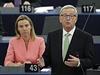 Evropsk� parlament schv�lil novou Evropskou komisi v �ele s p�edsedou...