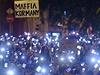 Deseti tis�ce lid� demonstrovaly v Budape�ti proti n�vrhu zdanit internet.