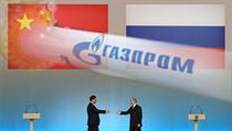 �ínský prezident Si �in-pching se vítá se svým ruským prot�j�kem Vladimirem... | na serveru Lidovky.cz | aktu�ln� zpr�vy