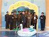 Severokorejský vůdce Kim Čong-un zavítal s ostatními vysokými činiteli do...