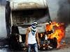 Střety palestinských demonstrantů s izraelskou policií jsou v Jeruzalémě v poslední době téměř na denním pořádku.