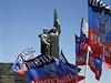 Vlajky samozvané Doněcké republiky