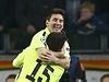 Lionel Messi slav� jeden ze sv�ch g�l� proti Ajaxu.
