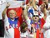 Čeští tenisoví fanoušci vytvořili v O2 areně parádní atmosféru.