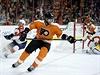 Třemi asistencemi přispěl hokejový útočník Jakub Voráček v NHL k výhře...