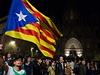 Tanec Sardana den před volbami sloužil i jako setkání příznivců nezávislosti...