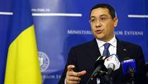 Rumunský sociáln�demokratický premiér Victor Ponta. | na serveru Lidovky.cz | aktu�ln� zpr�vy