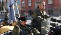 Volby v Luhansku p�ijeli podpo�it i �lenové ruského motorká�ského gangu No�ní... | na serveru Lidovky.cz | aktu�ln� zpr�vy
