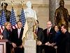 V�clav Havel se za�azuje mezi velik�ny v americk�ho Kongresu