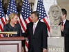 Dagmar Havlov� a John Boehner b�hem slavnostn� ceremonie