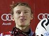 Vítěz závodu v Levi Henrik Kristoffersen.