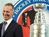 Dominik Hašek v Síni slávy NHL.
