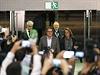 Šéf katalánské vlády Artur Mas po uzavření volebních místností.
