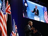 Barack Obama na summitu G20 v Brisbane.