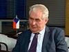 Miloš Zeman hovoří v ruské státní televizi, která ho představila jako...