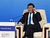 Vietnamský prezident  Truong Tan Sang na summitu Rady pro ekonomickou...