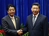 Japonský premiér a čínský prezident Si Ťin-pching se sešli na průlomové schůzce.